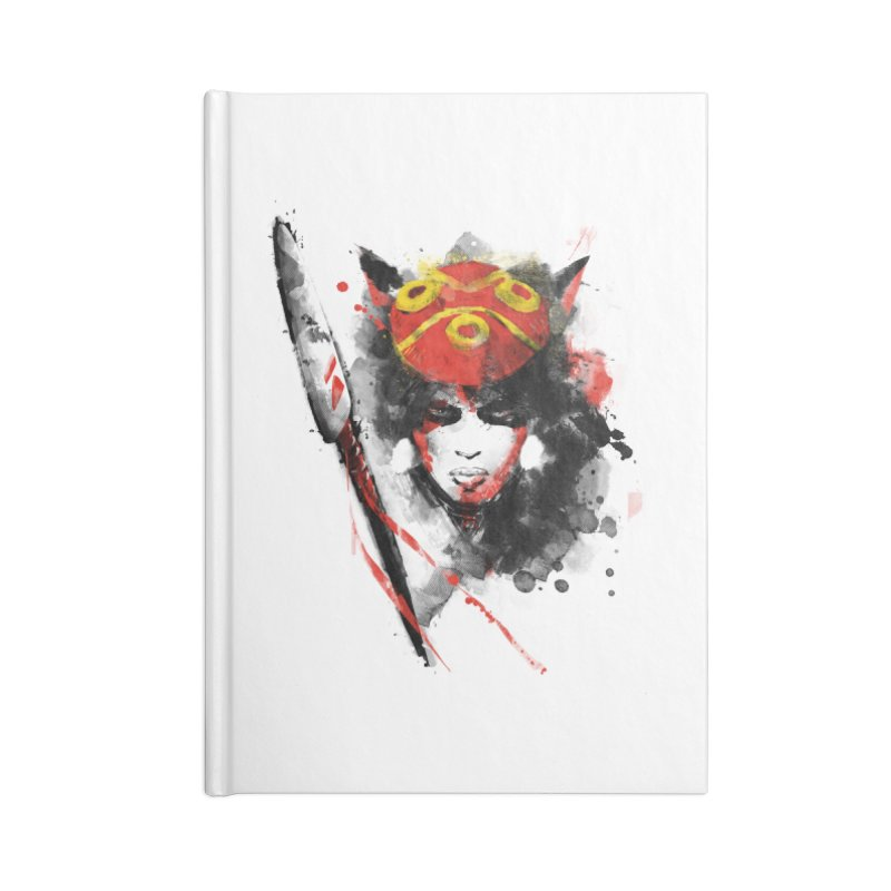 red princess Accessories Notebook by kharmazero's Artist Shop