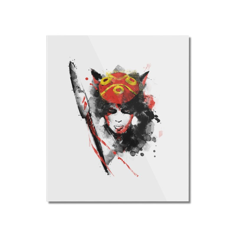 red princess Home Mounted Acrylic Print by kharmazero's Artist Shop