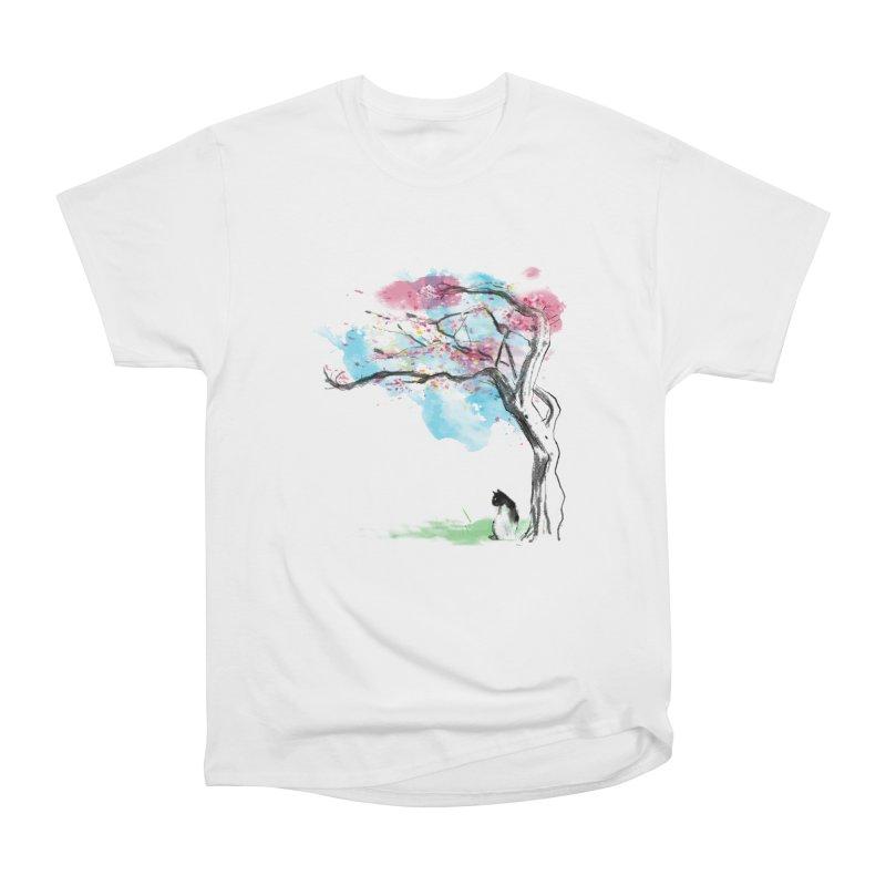 sakura delicious Men's Heavyweight T-Shirt by kharmazero's Artist Shop