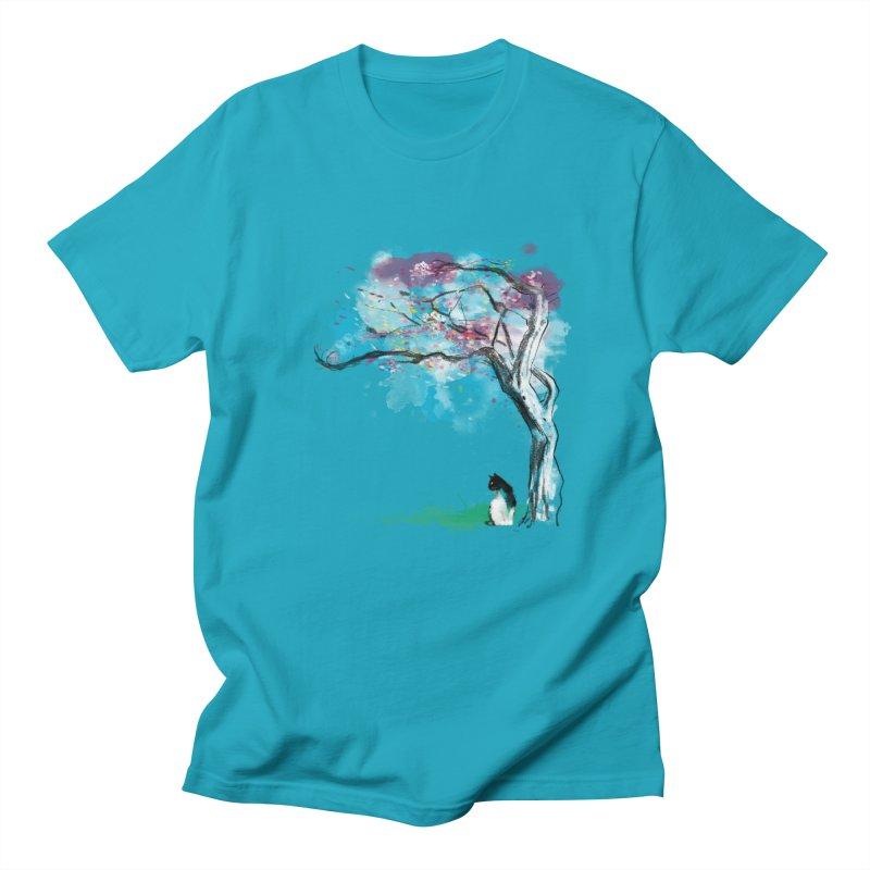 sakura delicious Men's T-Shirt by kharmazero's Artist Shop