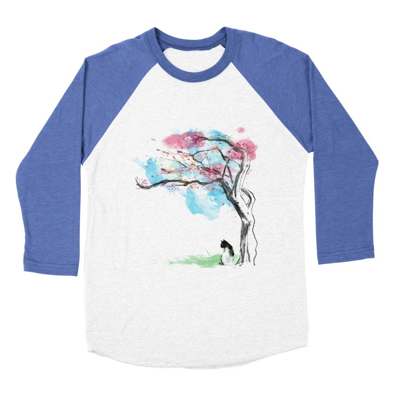 sakura delicious Women's Baseball Triblend T-Shirt by kharmazero's Artist Shop