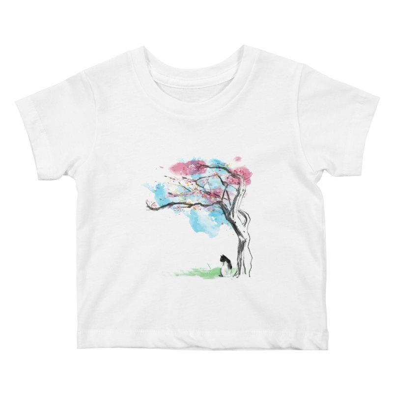sakura delicious Kids Baby T-Shirt by kharmazero's Artist Shop