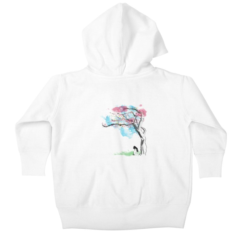 sakura delicious Kids Baby Zip-Up Hoody by kharmazero's Artist Shop