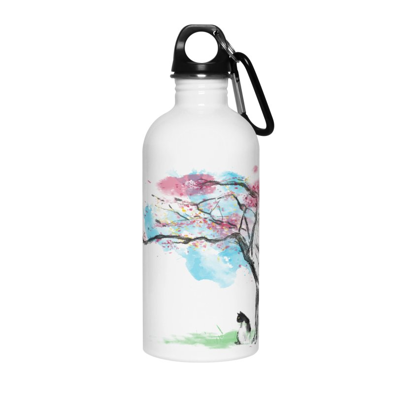sakura delicious Accessories Water Bottle by kharmazero's Artist Shop