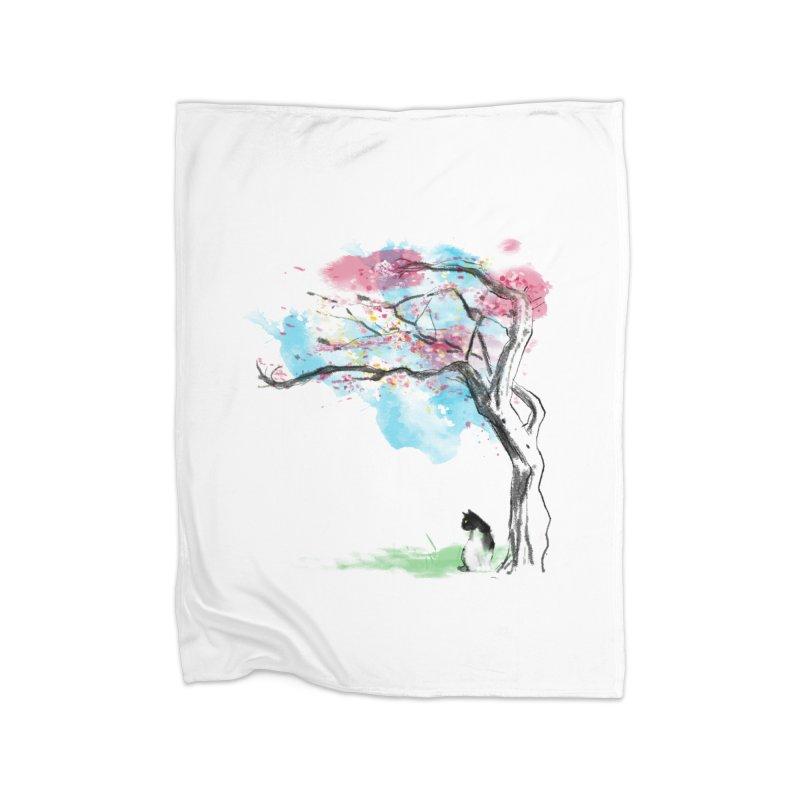 sakura delicious Home Blanket by kharmazero's Artist Shop
