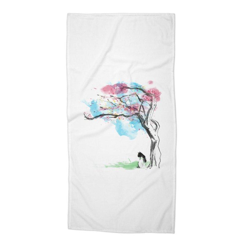 sakura delicious Accessories Beach Towel by kharmazero's Artist Shop
