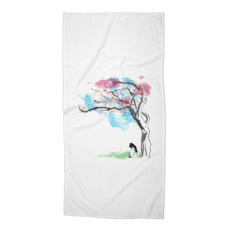 sakura delicious Accessories Beach Towel by kharmazero's Artist Shop