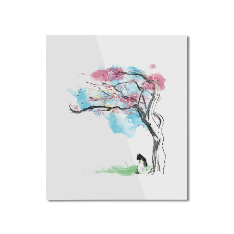 sakura delicious Home Mounted Aluminum Print by kharmazero's Artist Shop