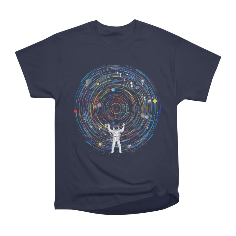 space dj Men's Classic T-Shirt by kharmazero's Artist Shop