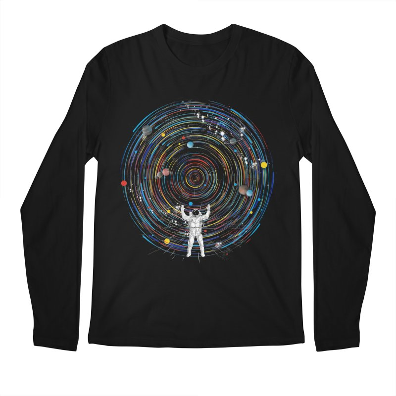 space dj Men's Longsleeve T-Shirt by kharmazero's Artist Shop