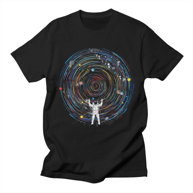 space dj Women's Regular Unisex T-Shirt by kharmazero's Artist Shop