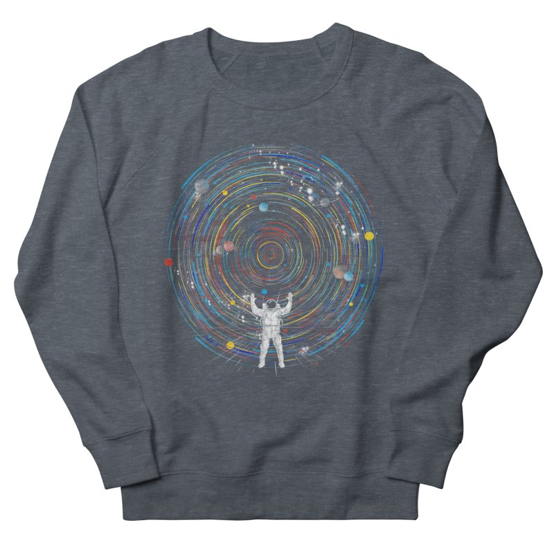 space dj Men's Sweatshirt by kharmazero's Artist Shop