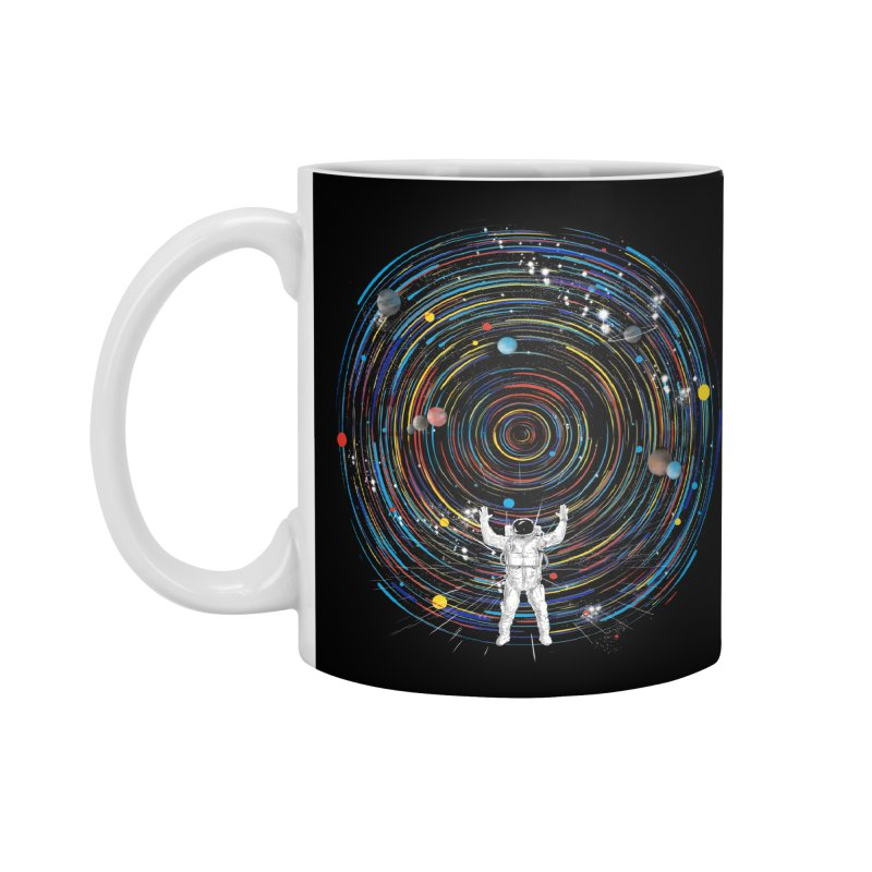 space dj Accessories Mug by kharmazero's Artist Shop