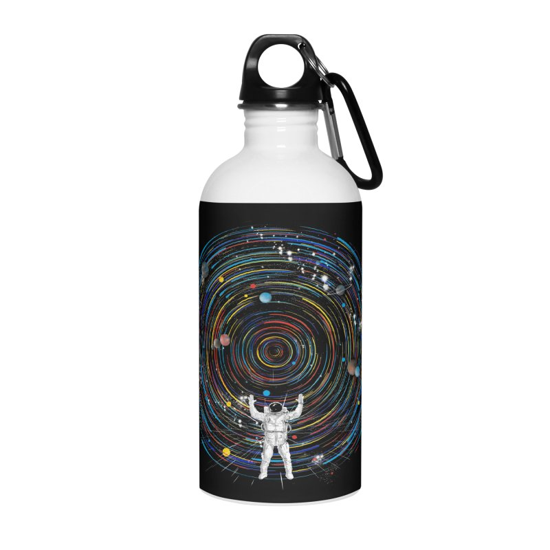 space dj Accessories Water Bottle by kharmazero's Artist Shop