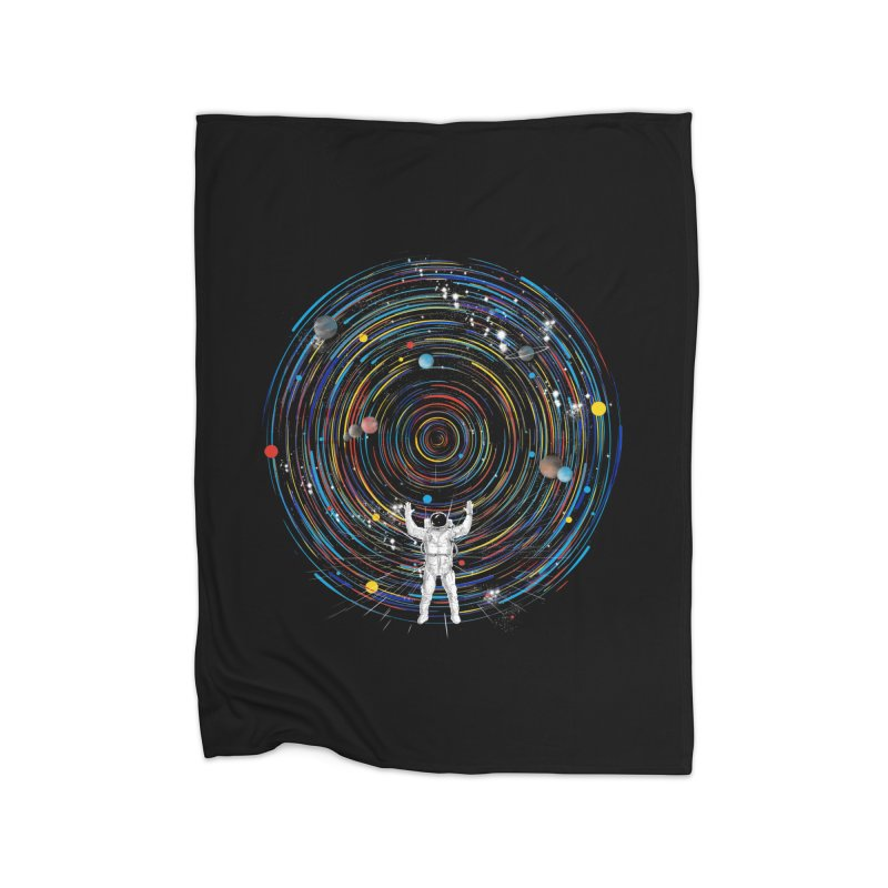 space dj Home Blanket by kharmazero's Artist Shop