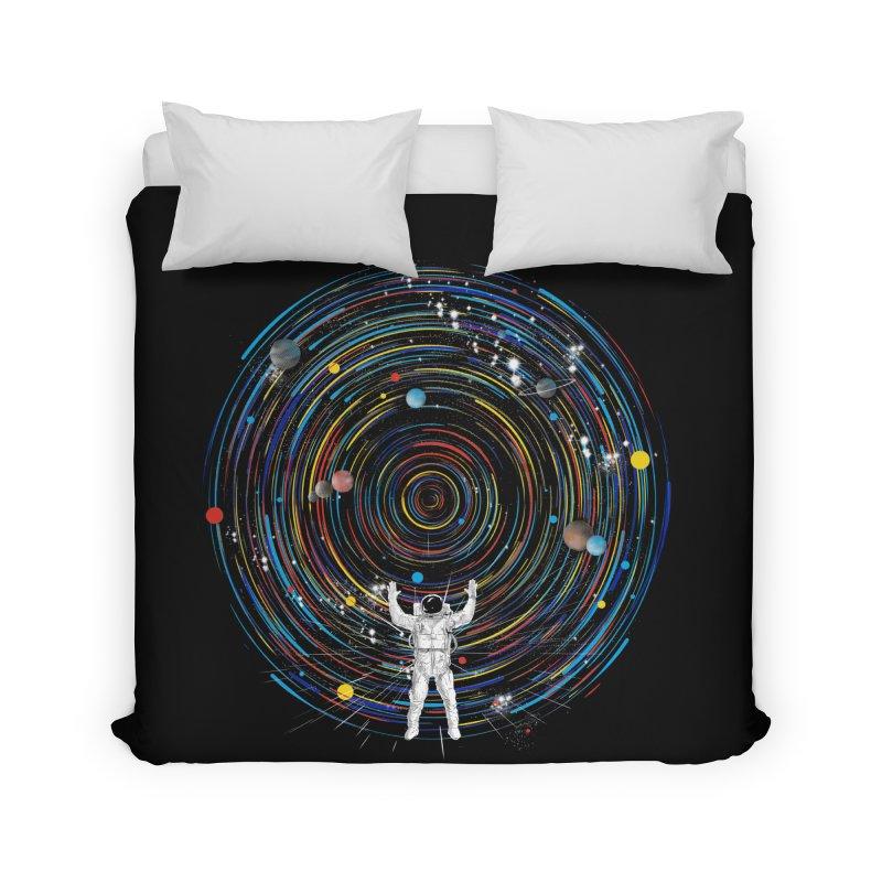 space dj Home Duvet by kharmazero's Artist Shop
