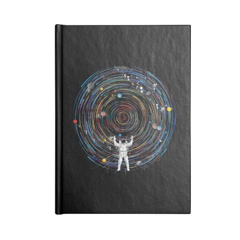 space dj Accessories Notebook by kharmazero's Artist Shop