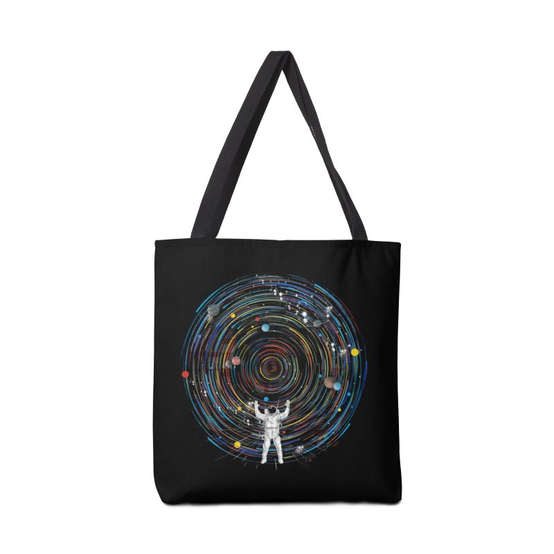 space dj Accessories Bag by kharmazero's Artist Shop
