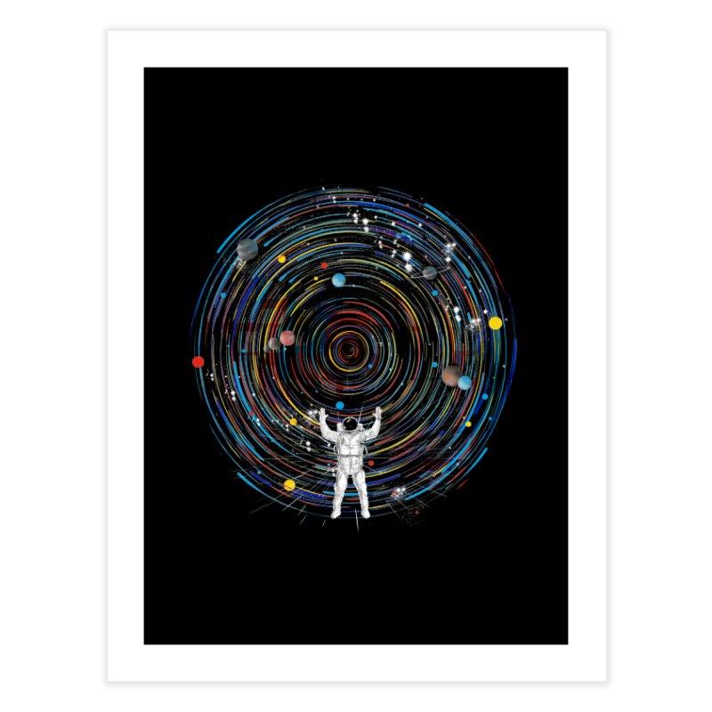 space dj Home Fine Art Print by kharmazero's Artist Shop