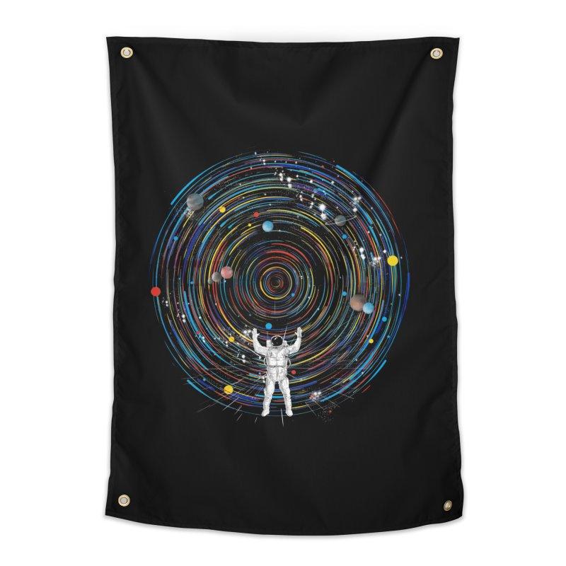 space dj Home Tapestry by kharmazero's Artist Shop
