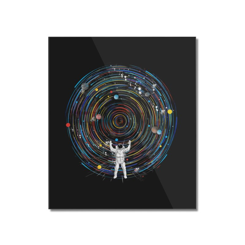 space dj Home Mounted Acrylic Print by kharmazero's Artist Shop
