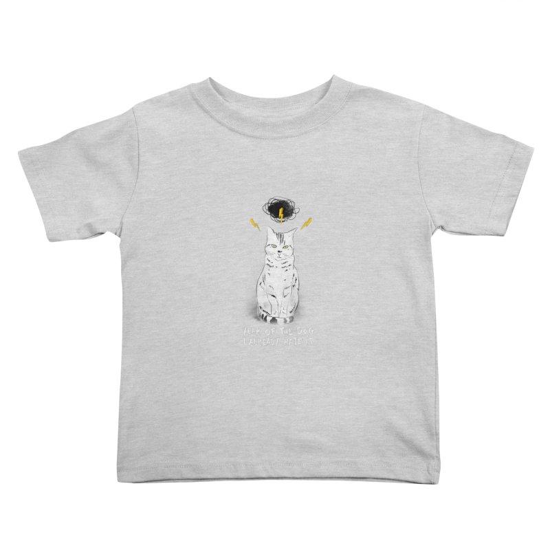 the hater Kids Toddler T-Shirt by kharmazero's Artist Shop