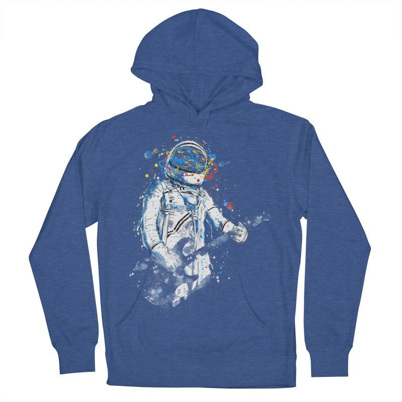 space guitar Men's Pullover Hoody by kharmazero's Artist Shop