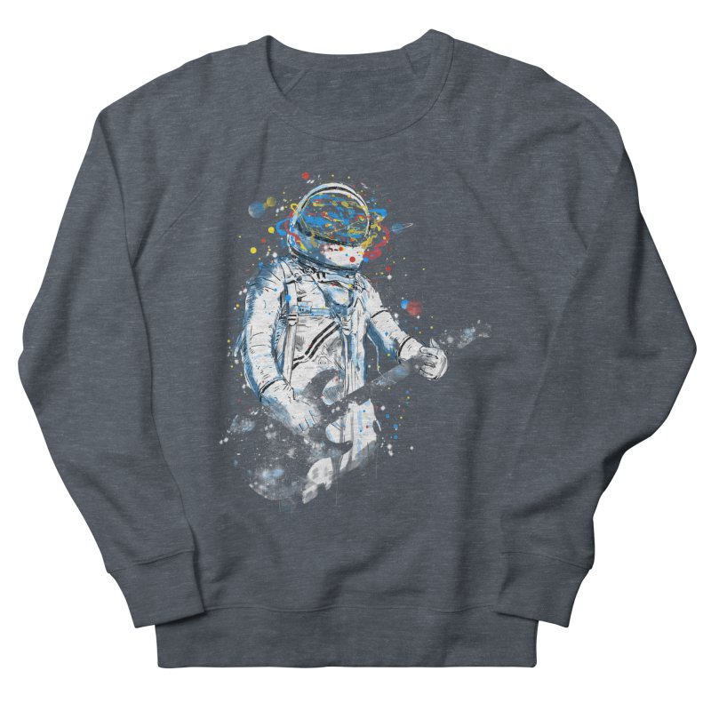 space guitar Women's Sweatshirt by kharmazero's Artist Shop