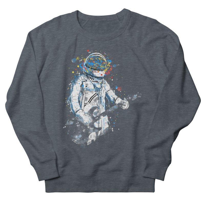 space guitar Men's Sweatshirt by kharmazero's Artist Shop