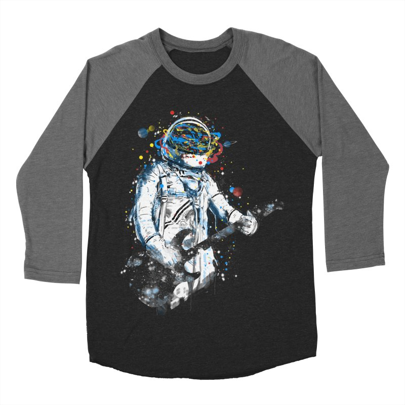 space guitar Women's Baseball Triblend T-Shirt by kharmazero's Artist Shop