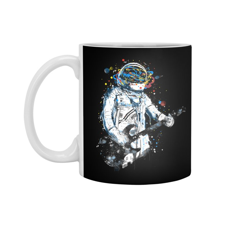 space guitar Accessories Mug by kharmazero's Artist Shop