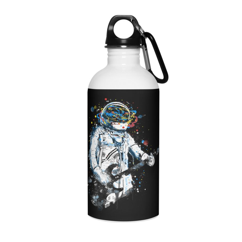 space guitar Accessories Water Bottle by kharmazero's Artist Shop