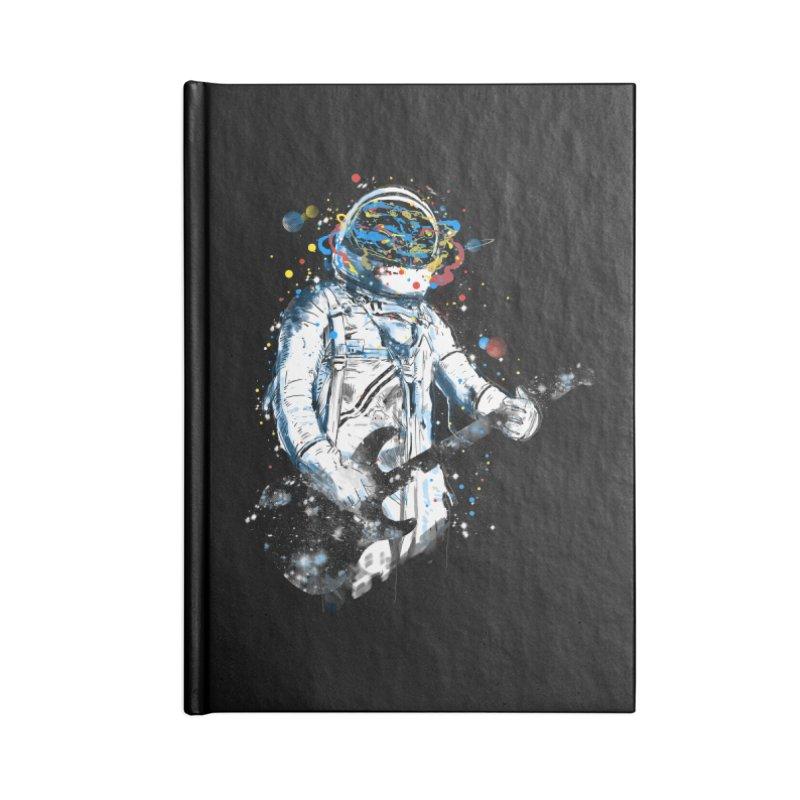 space guitar Accessories Notebook by kharmazero's Artist Shop
