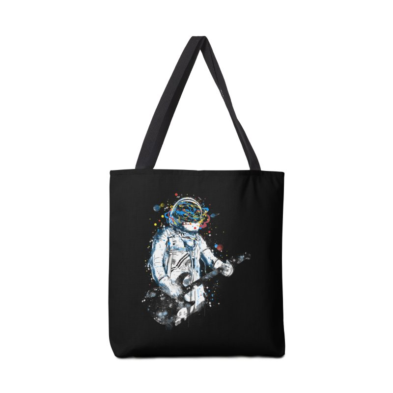 space guitar Accessories Bag by kharmazero's Artist Shop