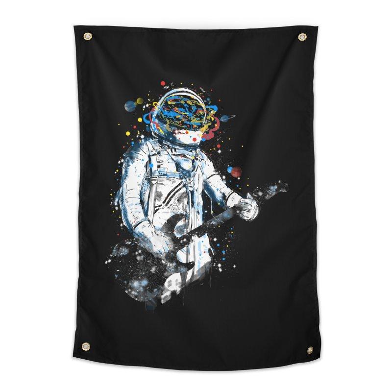 space guitar Home Tapestry by kharmazero's Artist Shop