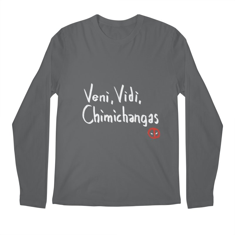 chimichangas Men's Longsleeve T-Shirt by kharmazero's Artist Shop