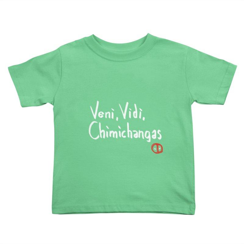 chimichangas Kids Toddler T-Shirt by kharmazero's Artist Shop