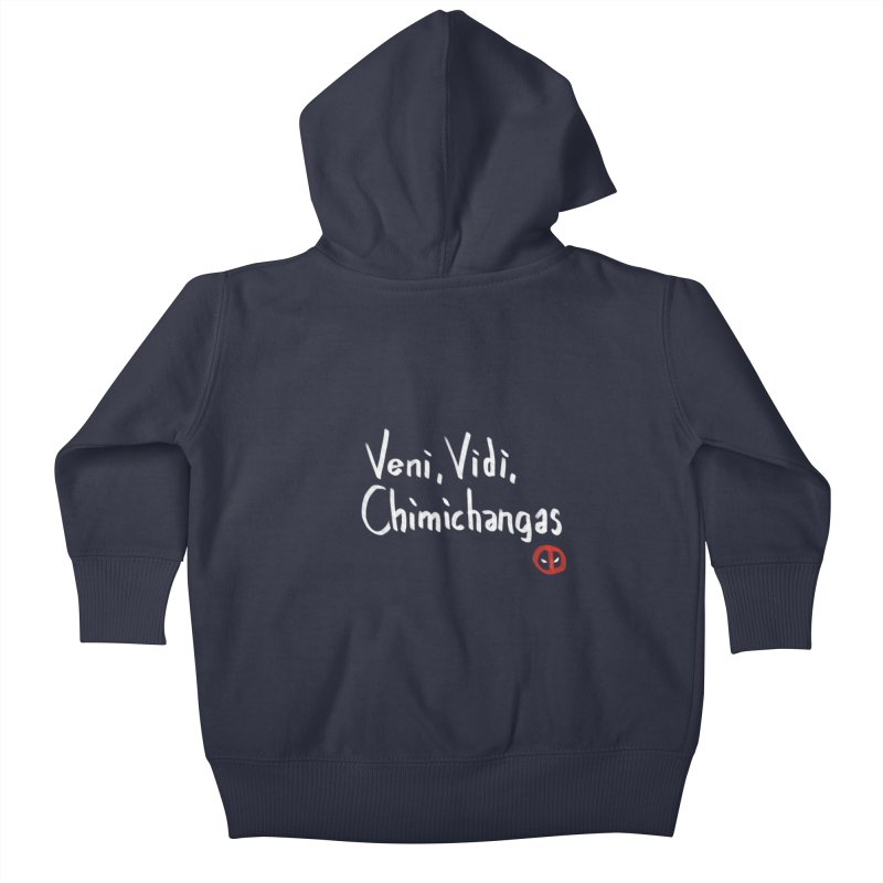 chimichangas Kids Baby Zip-Up Hoody by kharmazero's Artist Shop