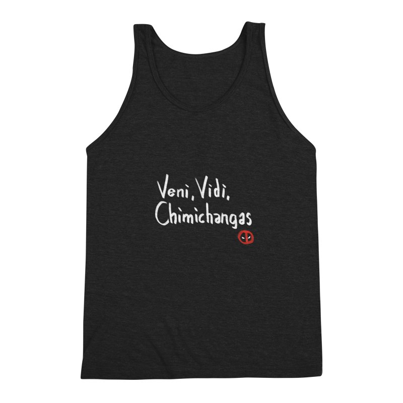 chimichangas Men's Triblend Tank by kharmazero's Artist Shop