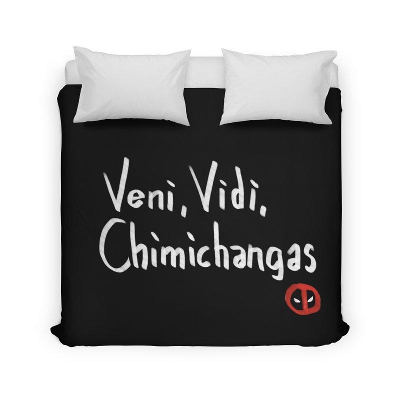 chimichangas Home Duvet by kharmazero's Artist Shop