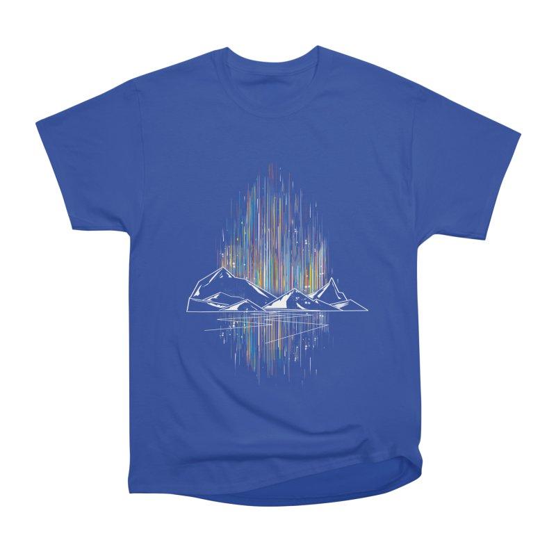 aurora Men's Heavyweight T-Shirt by kharmazero's Artist Shop