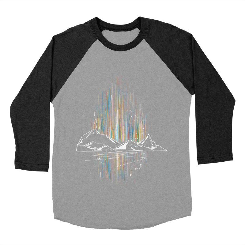 aurora Women's Baseball Triblend T-Shirt by kharmazero's Artist Shop