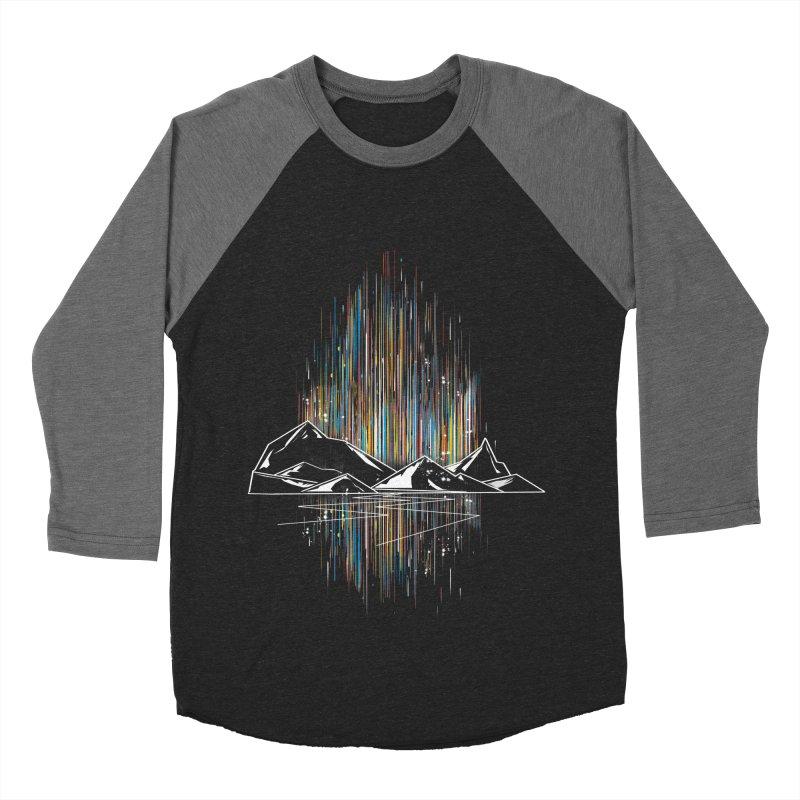 aurora Men's Baseball Triblend T-Shirt by kharmazero's Artist Shop