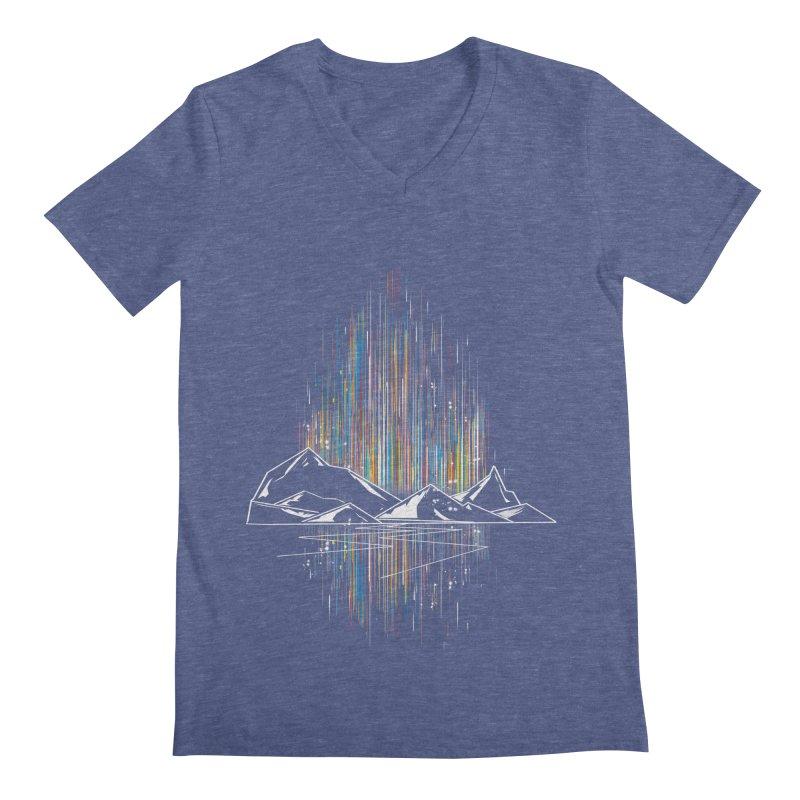 aurora Men's V-Neck by kharmazero's Artist Shop