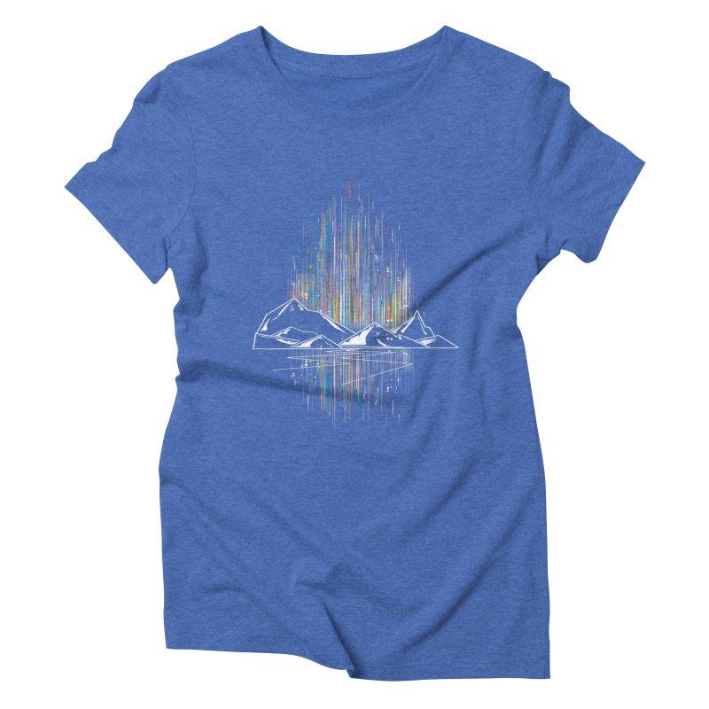 aurora Women's Triblend T-Shirt by kharmazero's Artist Shop