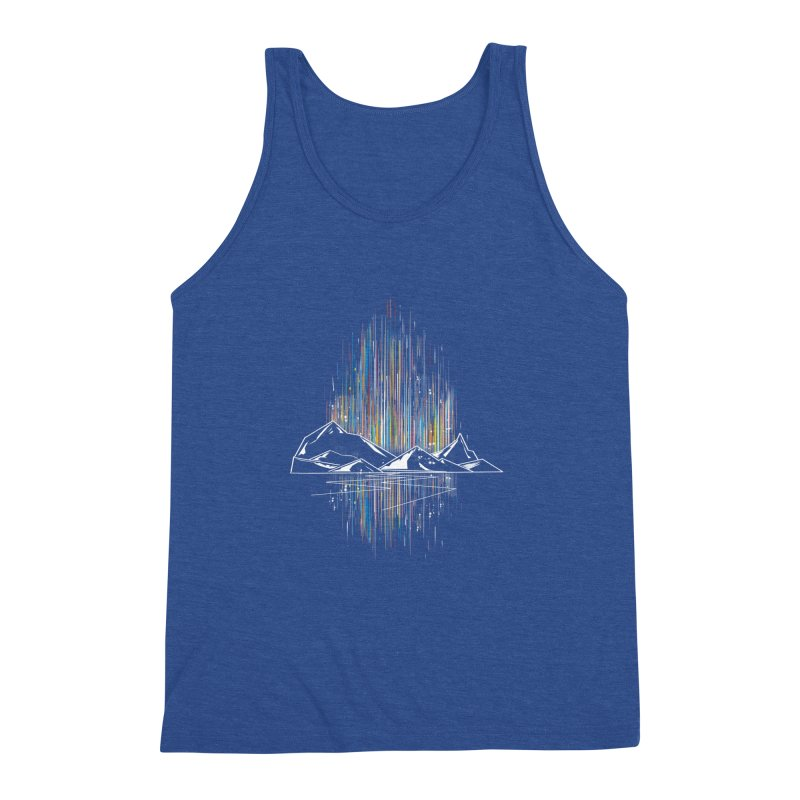 aurora Men's Triblend Tank by kharmazero's Artist Shop