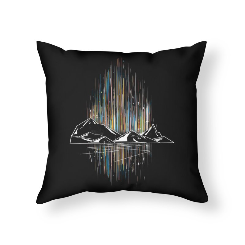 aurora Home Throw Pillow by kharmazero's Artist Shop