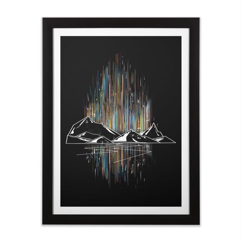 aurora Home Framed Fine Art Print by kharmazero's Artist Shop