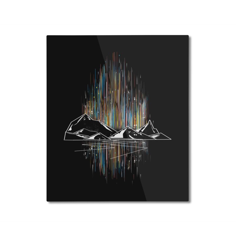 aurora Home Mounted Aluminum Print by kharmazero's Artist Shop