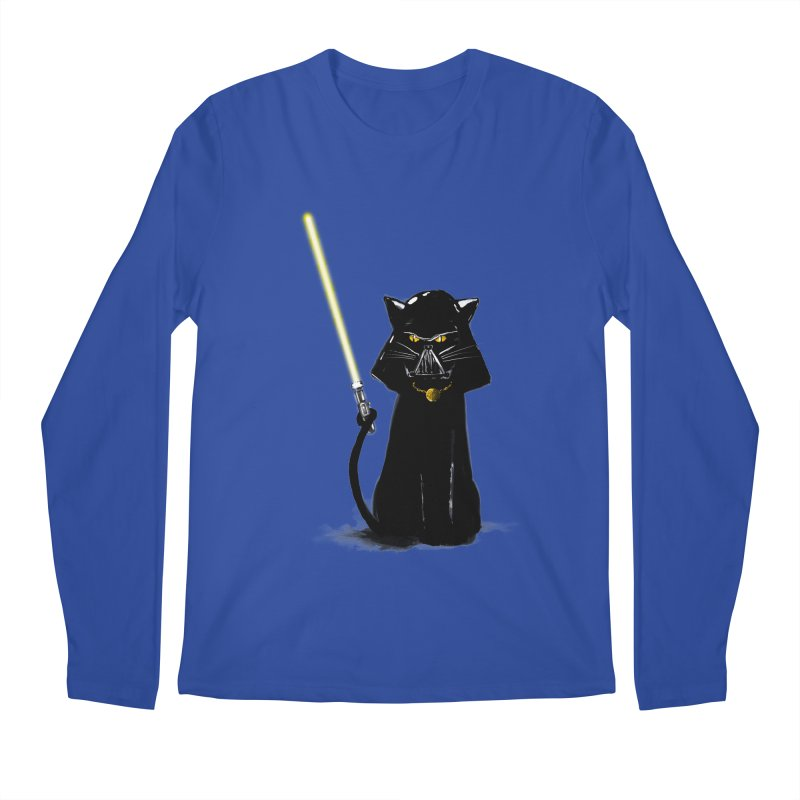 cat vador Men's Longsleeve T-Shirt by kharmazero's Artist Shop
